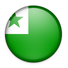 Flag of the neutral international language Esperanto